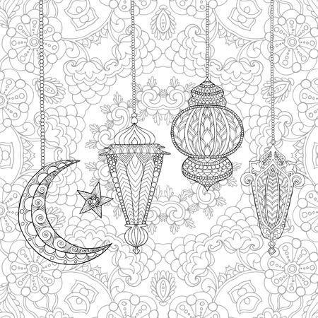 Nett Ramadan Malvorlagen Bilder - Beispiel Wiederaufnahme Vorlagen ...