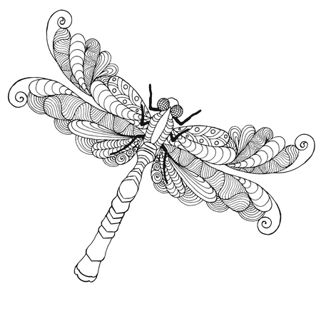758 Dragonfly Tattoo Stock Illustrations Cliparts And Royalty