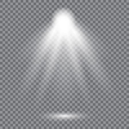 Bright lighting with spotlight design