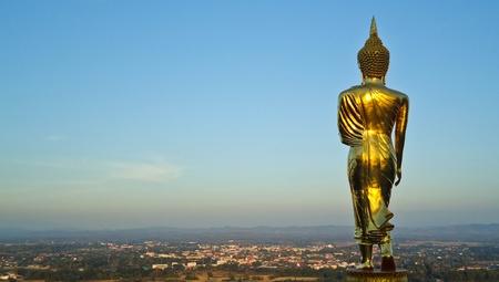 Buddha statue at Nan, Thailand
