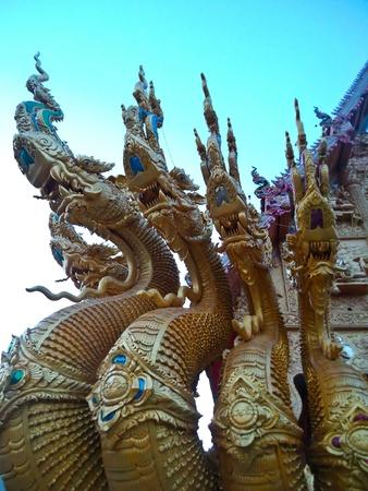 Naka statue at Nan, Thailand