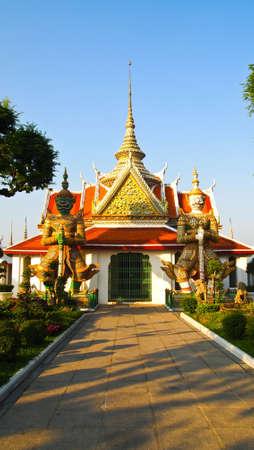 Giant stutue Arunrajwararam, Thailand Stock Photo