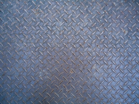 checker plate Stock Photo