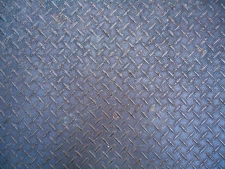 skid: checker plate Stock Photo