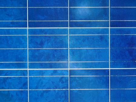 Blue tile Stock Photo