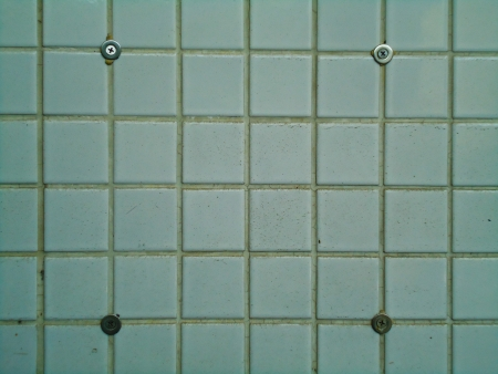 white ceramic tile