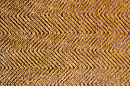 Rough orange fabric texture