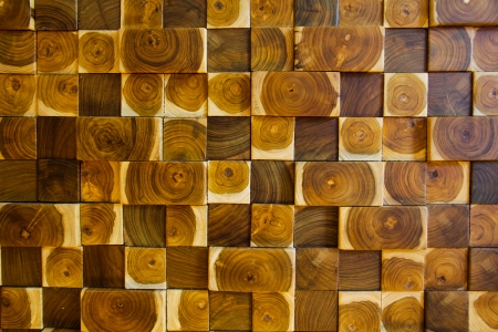 Wood block pattern texture Stock Photo