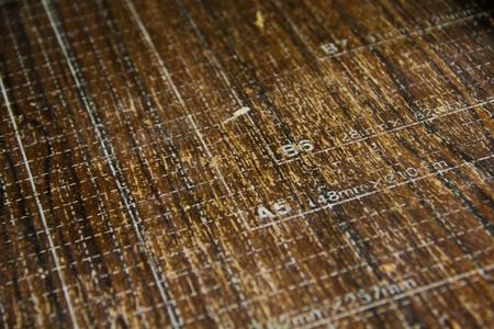 Wood mat texture