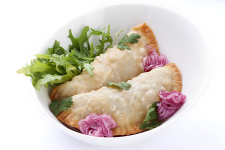 traditionally russian: meat pies