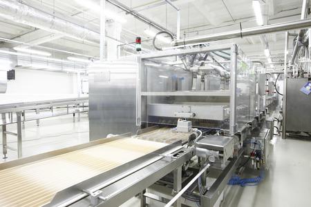 生産キャンディとチョコレート工場 写真素材 - 43558484