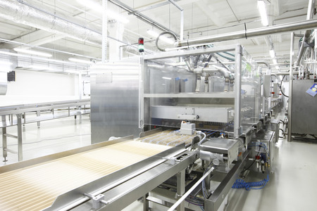 plant for the production candy and chocolate Standard-Bild
