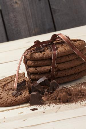 Zimt und Schokolade-Chip-
