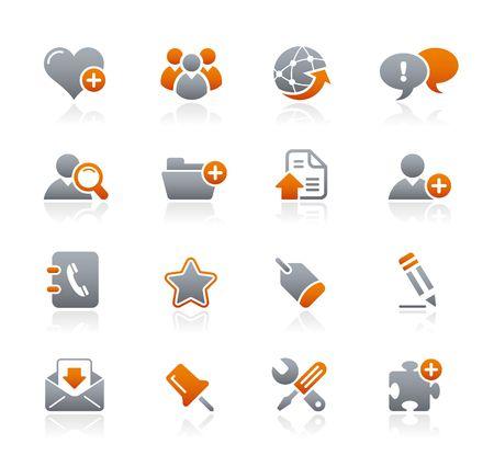 uploading: Internet e Blog Graphite icone serie