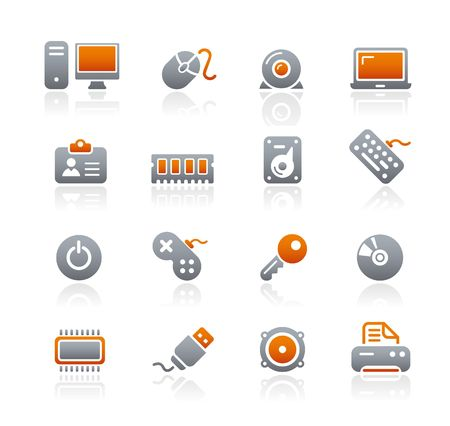computer memory: Computer Devices Illustration