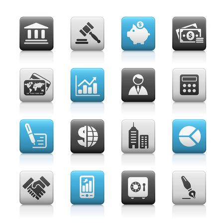 public safety: Business & Finance  Matte Icons Series