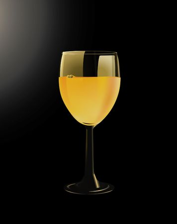 CUP OF WINE Vector