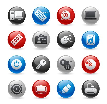 cable de red: Equipo & dispositivos   Gel Pro Series  Vectores