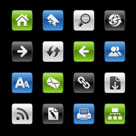 back link: Web Navigation  Gelbox Series Illustration