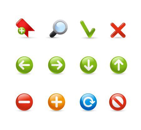 backwards: Gel Icon Set - 1  navigatie