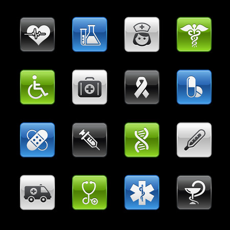 Medicine & Health Care // Gelbox Series Stock Vector - 6893304