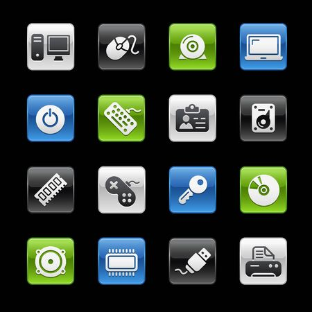 Computer & Devices  Gelbox Series  Vector