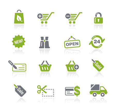 ecomerce: Shopping  Natura Series  Stock Photo
