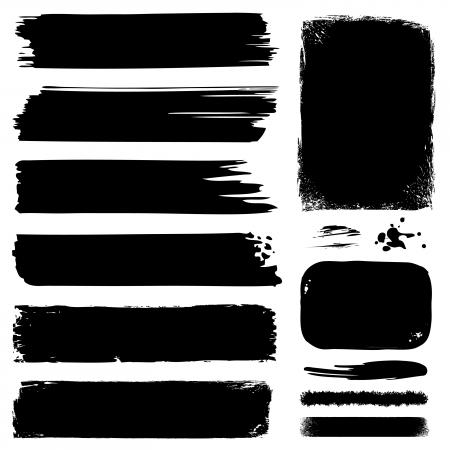produits c�r�aliers: Banni�res, images, lignes et contours Illustration