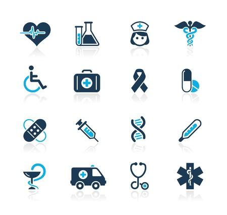 enfermeros: Medicina & Heath Care   Azur Series  Vectores