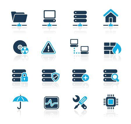 server: Rete & server   azzurro Series