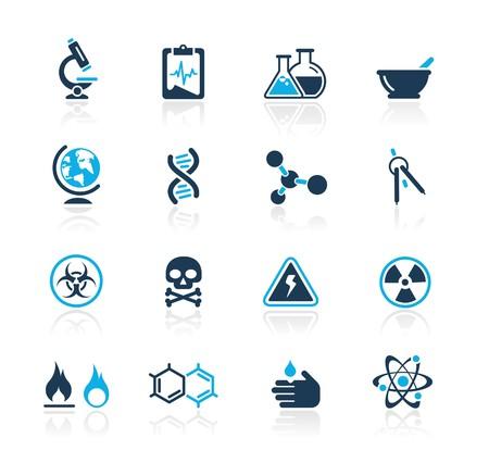 genetica: Scienza   azzurro Series