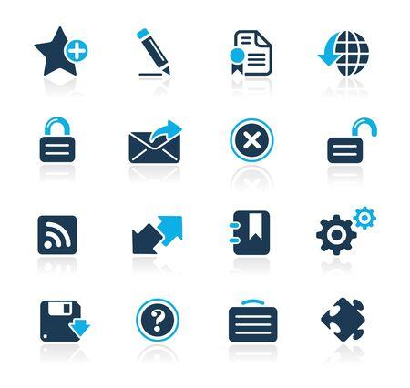Web Site & Internet Plus  Azure Series Vector