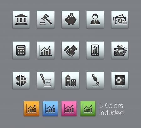 veiling: Business  Het omvat 5 kleuren in verschillende lagen.