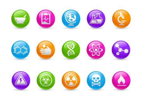 sustancias peligrosas: Ciencia   serie de Rainbow