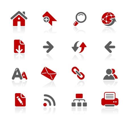 icons site search: Web Navigation  Redico Series