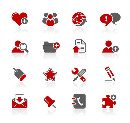 web icons communication: Internet  Blog   Illustration