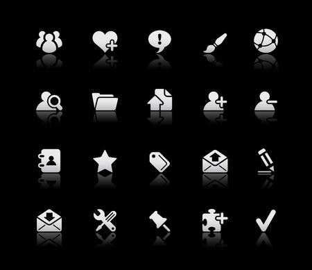 chat room: Blog & Internet  Silver Series Illustration