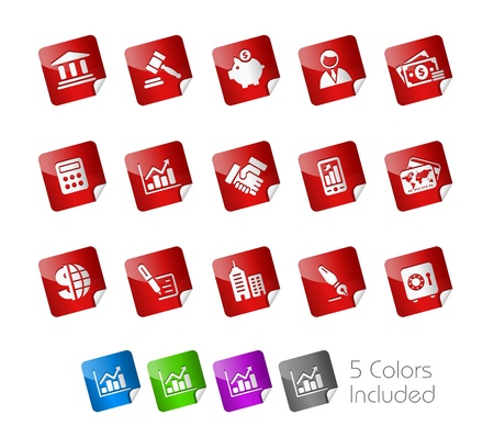 Business  &amp, Finance Stock Vector - 8708335
