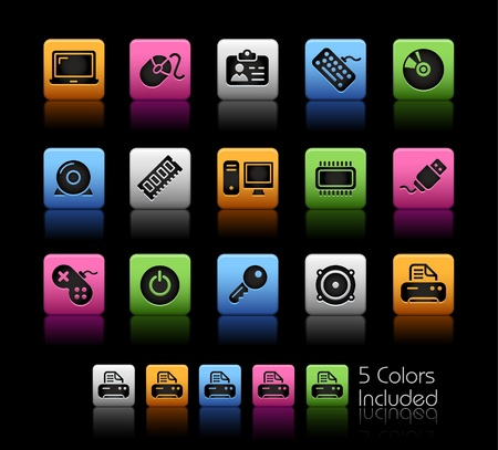 Computer & Devices   The vector file includes 5 colors in different layers. Vector