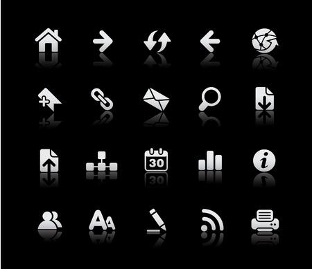 buttons: Navigazione web