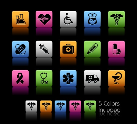 ebusiness: Medical   The file includes 5 colors in different layers. Illustration