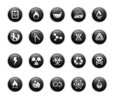 hazardous: Scienza   Black Label Series Vettoriali