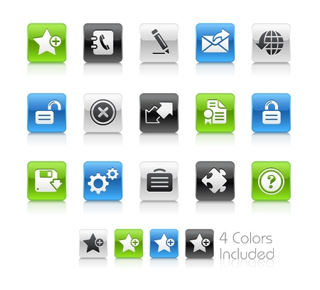 favorite colour: Web 2.0  The file includes 4 colors in different layers.