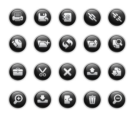 tool icon: Interfaccia  Black Label Series