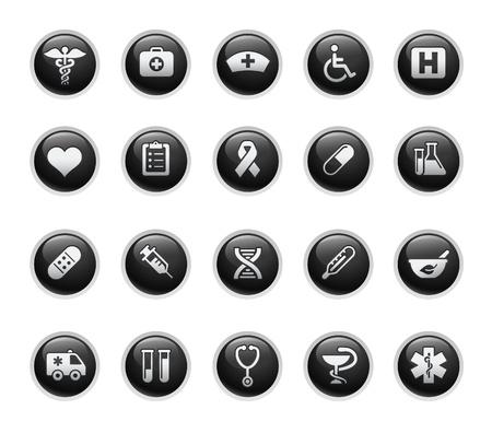 e commerce icon: M�dicos  Black Label Series