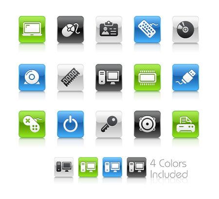 Computer & Devices   The vector file includes 4 colors in different layers. Vector