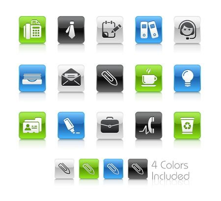 includes: Office & Business  The vector file includes 4 colors in different layers. Illustration