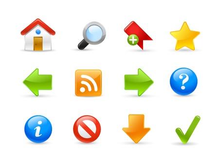 Web Site Icons - Gel Series