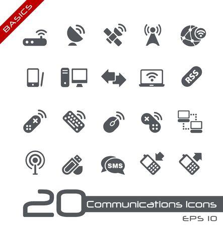 toolbar: Le comunicazioni senza fili - Nozioni di base Archivio Fotografico