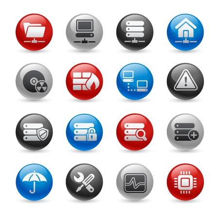 pro: Network   Server -- Gel Pro Series Illustration